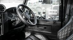 Chelsea Truck Company Tamar Blue #LandRover Defender XS 110 Wide Track #cars #trucks #suv #luxury #customcars #cartuning #offroad #allterrain More 4x4 Fun >> http://www.motoringexposure.com/offroad-blog/