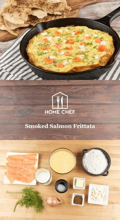 Adding lox to a bagel stands as one of humanity's great achievements, but creative uses for smoked salmon seem to have stalled there. Enter our Smoked Salmon Frittata, an Italian egg preparation similar to a crustless quiche. Tender, smoke-cured salmon gets paired with briny feta cheese and fresh dill for a savory breakfast that looks fancy, but is deceptively simple. Add to that crackling-crisp lavash flatbread flecked with aromatic za'atar spice, and you'll realize you can do much better…