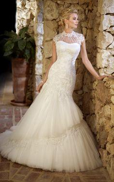 Be Dazzling in Stella York #Wedding Dresses. To see more: http://www.modwedding.com/2013/10/10/stella-york-wedding-dresses #weddingdresses