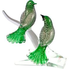 Murano Birds On Branch