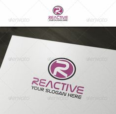 R Abstract Letter - Logo Design Template Vector #logotype Download it here: http://graphicriver.net/item/r-abstract-letter-logo/2559717?s_rank=1094?ref=nexion