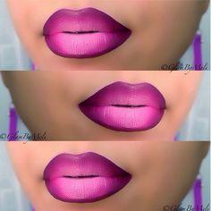 .@glambymeli | lip combo for the night !! @NYX Cosmetics jumbo white pencil ~ @motivescosmeti... | Webstagram Lip Makeup Tutorial, Lipstick Tutorial, Love Makeup, Beauty Makeup, Younique Lip Stain, Khol Eyeliner, Ombre Lips, Pink Lips, Dark Skin Makeup