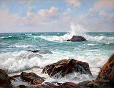 Charles Vickery: Original Paintings: Item# 18611
