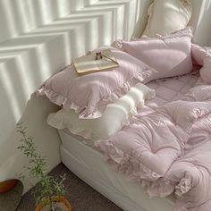 Room Ideas Bedroom, Bedroom Inspo, Bedroom Decor, Dream Rooms, Dream Bedroom, Casa Clean, Pastel Room, Pink Room, Pastel Blue