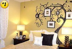 Wall decor. I love this idea!