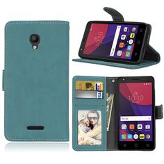 Solid color For Alcatel Pop Star 5022D 3G Case Retro PU Leather Wallet Flip Phone Bags. Click visit to buy #WalletCase #Case