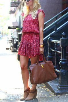 How to Wear Ankle Boots with Short Legs via @PureWow