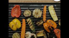 Ψητά μαριναρισμένα λαχανικά με Ταλγάνι στη σχάρα - YouTube
