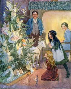 Margaret Tarrant's illustrations date from the 1920's, reflecting the enchanting and magical world of fairies, flowers and young children.