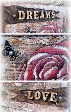 Vintage rose details