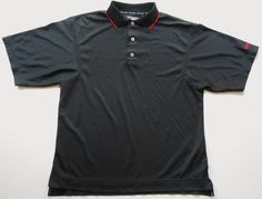 FOOTJOY Men's Black Prodry Superlite Golf Shirt S SMALL 100% Polyester Polo #FootJoy #PoloRugby