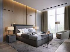 Minotti | Grey Bedroom design.| For more inspirations visit: www.bedroomideas.eu | #bedroomideas #bedroomfurniture #bedroomdecoratingideas