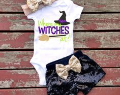 Ghouls Just Wanna Have Fun Halloween by GLITTERandGLAMshop on Etsy