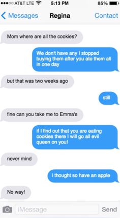 """""""I will go all Evil Queen on you"""" Only OUAT fans will get this: HER NAME WAS REGINA"""
