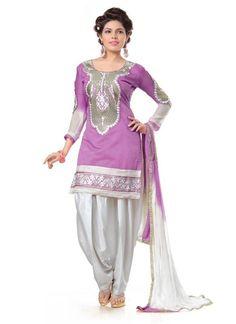 Designer Cotton Embroidery Work Fancy Salwar Suit 7 Days Easy Return, Buy Designer salwar suit, Embroidery salwar suit, Party Wear salwar kameez, etc..