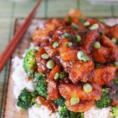 Crock Pot General Tso's Chicken - Host The Toast