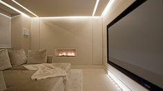 palest shades - luxurious home cinema - Lawson Robb - Architecture and Interior Design