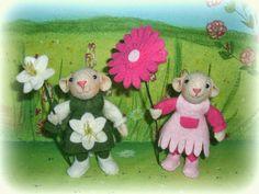 Susannelfes Blumenkinder für den Jahreszeitentisch: Maus am Mittwoch , Teil 1 ♥