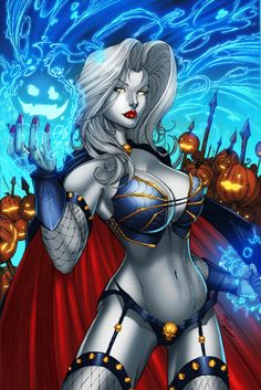 Lady Death by DeBalfo colors by SplashColors.deviantart.com on @deviantART
