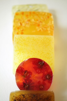 glycerine soaps with add in's