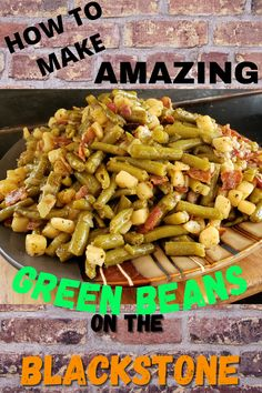 Summer Grilling Recipes, Healthy Grilling, Grill Recipes, Outdoor Griddle Recipes, Outdoor Cooking Recipes, Grilled Green Beans, Stones Recipe, Blackstone Grill, Flat Top Grill
