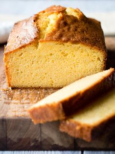 This is the BEST PoundCake! It's an easy homemade pound cake recipe you'll love. You won't believe how simple this pound cake loaf is to make. There's one secret ingredient to make it rich and moist. Get the recipe on The Worktop. || #poundcake #poundcakerecipes