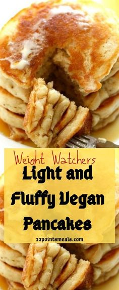Light and Fluffy Vegan Pancakes! Light and Fluffy Vegan Pancakes! Slow Cooker Chicken Healthy, Healthy Cooking, Slow Cooker Recipes, Beef Recipes, Healthy Recipes, Ketogenic Recipes, Healthy Food, Healthy Eating, Vegan Pancakes