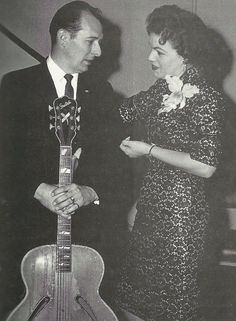 young patsy cline and randy hughes