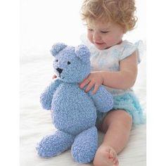 Snuggly, cuddly teddy bear for babies: free knitting pattern Teddy Bear Knitting Pattern, Love Knitting, Animal Knitting Patterns, Knitted Teddy Bear, Crochet Toys Patterns, Stuffed Toys Patterns, Baby Knitting, Teddy Bears, Bear Patterns