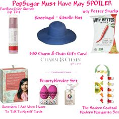 Based on the Spoilers for PopSugar Must Have May delivery, it looks like another great box!