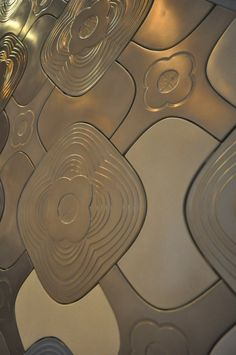 As part of the London Design Festival, CONTEMPORIST visited the 100% Design show, where KAZA Concrete exhibited some examples of the custom concrete tiles they create.