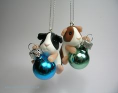 Little Bauble Guinea Pig Tree Decoration (£25)