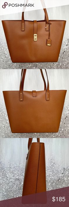 8e5ac5b869b9 Michael Kors Karson Large Leather Tote Brand new with tags! Michael Kors  Karson Large Carryall