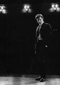 Brian Epstein ( best known for being the manager of the Beatles) at the Saville Theatre, London, 1965.