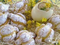COLOMBINE- Buone #brioche profumate all' #arancia per la colazione di Pasqua.