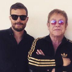 Jamie and Elton John