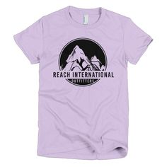 Mountain Logo - Short Sleeve T-Shirt (Women's)