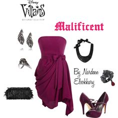 """Malificent"" by nardeenelsokkary on Polyvore"