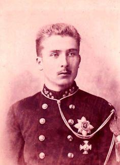 Prince Baudouin de Belgique (1869-1891) fils de Philippe comte de Flandres et de la princesse Marie de Hohenzollern-Sigmaringen