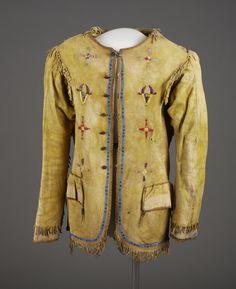 Куртка, Сиу или Шайены. 1890 год. А.