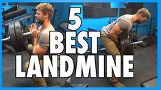 5 Best Landmine Press Exercises - YouTube