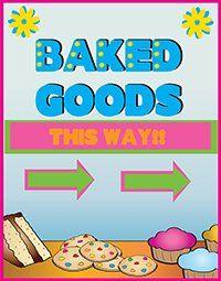 Free Bake Sale Flyer Template HttpBakesaleflyersComBuildYour