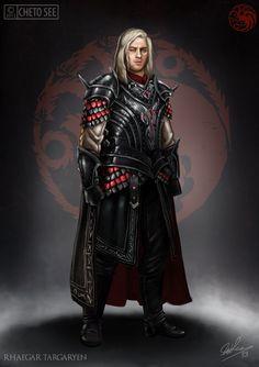 Rhaegar Targaryen by chetosee