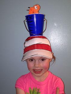 Crazy hat day remembering Dr Seuss!