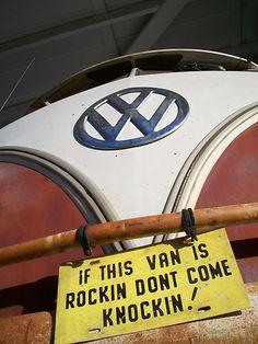 IF THE VAN IS A ROCKIN...