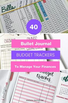 Make managing your money fun and way easier with Bullet Journal Budget Trackers! These bullet journal budget ideas, pages and spreads will help you manage your finances with creativity & flair.