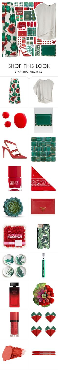 """2201 // C i r c i n u s"" by arierrefatir ❤ liked on Polyvore featuring Emanuel Ungaro, Zero + Maria Cornejo, Valentino, Nails Inc., NLY Accessories, Dot & Bo, Prada, CO, Casetify and Rosanna"