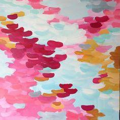 Happy #abstract #abstractpainting #art #arte #pintura #painting  #arteabstracto #elenacalonje #abstracto #walldecor #decoracion  #pink #blue #decor #acrylic #acrilico 50x50cm #interiordesign by e_calonje, via Flickr