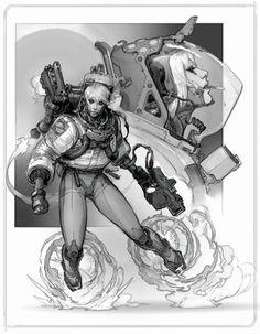 Brave, Anton Lavrushkin on ArtStation at https://www.artstation.com/artwork/WvR8N