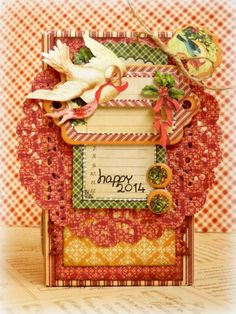 Learn how to make this amazing altered gift box with a great tutorial from Romy. Love this! #graphic45